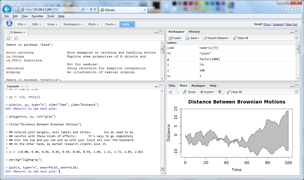 Rstudio and R on CentOS — aaagh | TheFluxCap